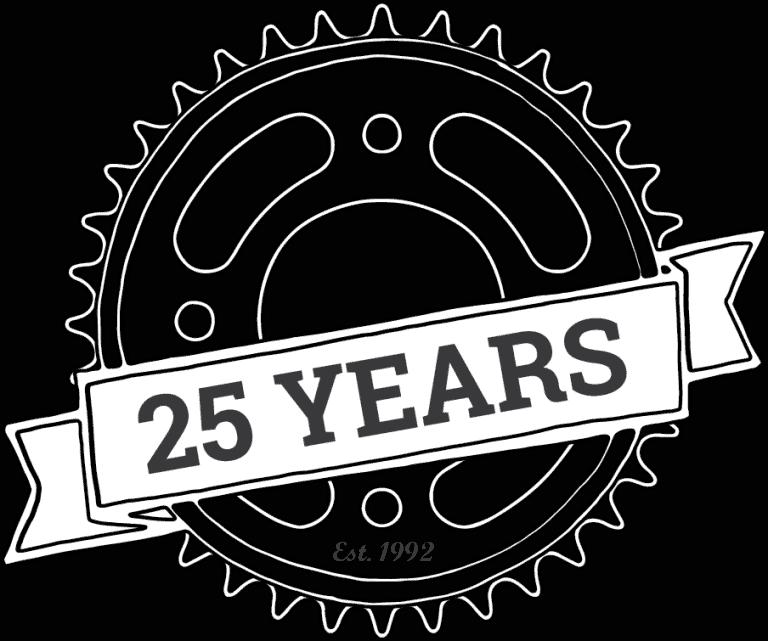 Gardner Enterprises 25 Year Badge Grey